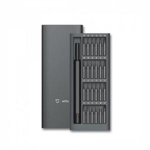 Xiaomi Mijia Wiha täglichen Gebrauch Kit 24 Präzisions-Magnet-Bits Alluminum Box DIY Schraubendreher Smart Home Set heiß