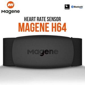Magene Mover H64 Heart Rate Monitor Dual Mode Bluetooth4. 0 ANT +Magene Sensor с нагрудным ремнем компьютерный велосипедный датчик сердечного ритма