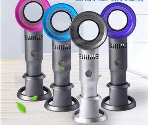 Zero9 USB Bladeless Fan 충전식 휴대용 소형 미니 쿨러 No 리프 핸디 팬 3 개 팬 속도 레벨 LED 표시기