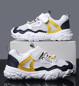 2020 best selling new summer children's shoes classic hollow air mesh sports children's fashion shoes Korean casual medium and large childre