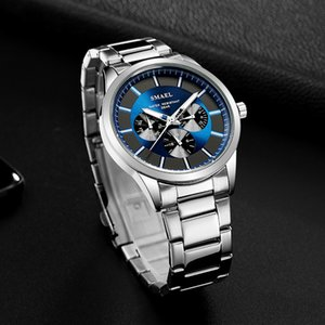 luxury SMAEL Fashion Men Luxury Quartz Wristwatches Military Watch Army Digital Clock Man Automatic 9602 Sport Watches Waterproof