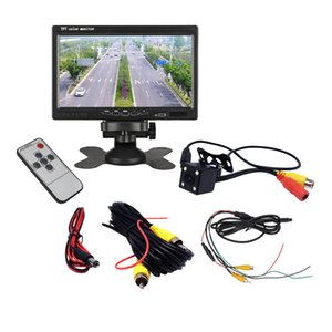 7 inch TFT LCD Car Monitor Wired Rear View Camera Backup Rearview Parking System