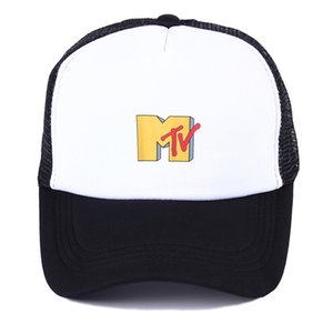 Горячая MTV мужчины хип-хоп Cap отпуск дышащий чистая бейсболки женщины лето взрослый сексуальный дальнобойщик шляпы повседневная папа Кости