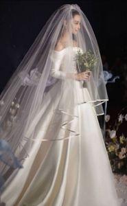 Специальная ссылка на одну вуаль венчания, чтобы соответствовать свадебное платье