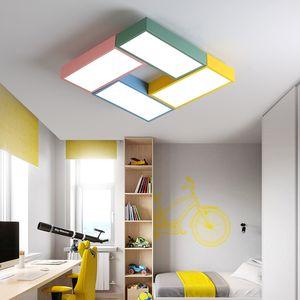 occhio bambino in camera di protezione dei cartoni animati del mulino a vento soffitto colorato lampada macaron lampada da letto bambini del fumetto di luce LED R42