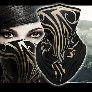New Quality Dishonored 2 Mask Dishonored II Emily Mask Cosplay Props