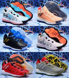 2020 Yeni Damian Lillard VI Süet 6S 6 6 Bruce Lee Basketbol Ayakkabı Çocuklar Erkek Ayakkabıları Spor Dame Eğitmenler Spor ayakkabılar