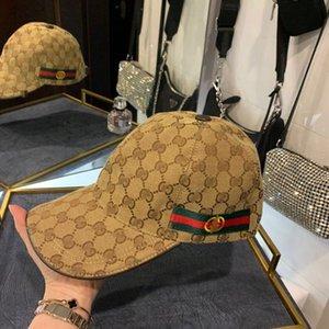 Boné de beisebol chapéu de casa duplo GG cap clássico chapéu maré guarda-sol bordado das mulheres dos homens de abelhas