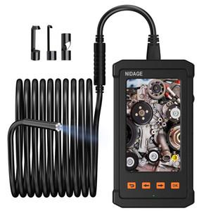 10M Câble Endoscope Industrial Cam - 4,3 pouces 1080P écran LCD avec 5.5mm 6 lumières LED Micro inspection Borescope PQ305 Appareil photo étanche