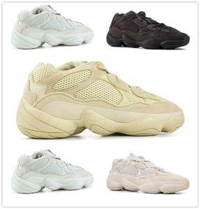 Adidas Yeezy Sply Boost Shoes 2020 Wave Runner 500 500s Blush Desert Rat Супер Луна Желтый Run кроссовки West Mens женщин тапки обувь LTS