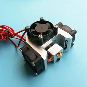 Pièces Imprimante 3D pas cher Accessoires Nouveau V6 métal hotend impression kit de tête avec ventilateur de refroidissement conduit super + V6 chaleur circulaire