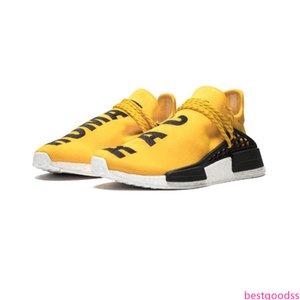 human race Hu trail x pharrell williams men running shoes Solar Pack Afro Holi Blank Canvas mens trainers women sports sneaker