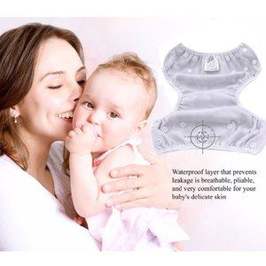 Bébé natation Diapers réglable pantalon piscine de bain lavables Swim couches lavables 1 2 3 4 5 6 7 8 9 10 11 12 mois de l'année poo étanches