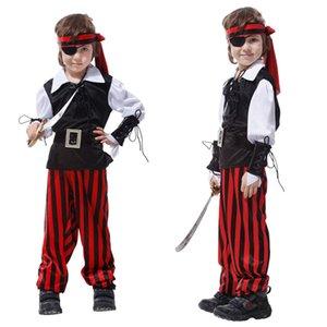 Halloween Costumes Kids Boys Girls Costume Cosplay Pirate Children Christmas Carnival New Year Party Purim Fancy Dress B-0081