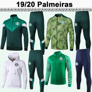 2019 2020 Palmeiras DUDU BORJA Mens Jerseys MOISES A. GUERRA Long Sleeve Training Wear Football Shirt Adult