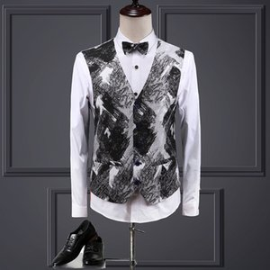Wedding Dress Suit Men Costume Homme Blazer Men 2019 Mens Floral Suits Mens Business Formal Wear Tuxedo 3PC Men Suit Plus Size