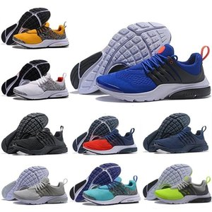 2019 5 36 46 Sale Presto Br Qs Running Breathe Black White Yellow Red Mens Women Men Sports Sneakers Designer Shoes - Outdoor