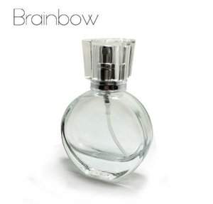 Brainbow 1pc 20ml Vetro Vuoto Bottiglie di Profumo Spray Atomizzatore Bottiglia Riutilizzabile Profumo Spruzzo Caso con Dimensioni di viaggio Portatile + Imbuto