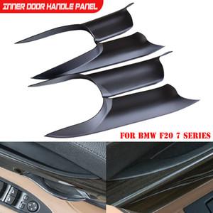 La nueva llegada del ABS mango de plástico Puertas panel interior Panel para BMW F02 F01 Serie 7 sedán de tracción Recorte cubierta