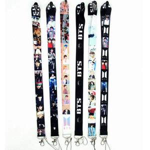 Yıldız BTS oğlan güzel Boyun sapanlar BOYUNLUKLAR Cep Telefonu, Kimlik Kartı, Boy anahtarlık parti hediyeler