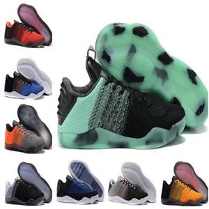 Top 2020 Todos los hombres del 11 Elite descendente Estrellas 2016 zapatos de tacón de Aquiles BHM último emperador Negro Mamba Pascua de baloncesto baratos caída Aceptado