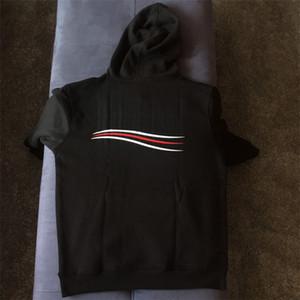 Hommes à capuche chaud Pull Fashion Style Jumpers Hommes Femmes Hauts Pulls à capuche rayé imprimé