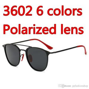 Güneş Koleksiyonu Yeni moda UV koruması sürüş metal çerçeve Erkekler Polarize lens Marka Tasarımcı Yüksek Kalite Metal Menteşe sunglasses