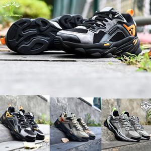 الجملة testperi الأزياء مكتنزة 700 3 متر عاكس الرياضة رياضة أسود الزيتون مجموع البرتقال الوحيد عارضة ل عداء الرجال مصمم الأحذية