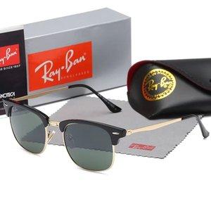 yjuylycfr nnngghet 2019 clásico de alta calidad gafas de sol piloto diseñador de la marca para mujer para hombre Gafas de sol Gafas Metal Vidrio Lenses1885