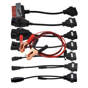 bmw 20pin kablo mb 38pin Bağlayıcı için bağlantı TCS PRO Car Araç Teşhis kabloları OBD2 OBDII TCS kabloları tam set kablo