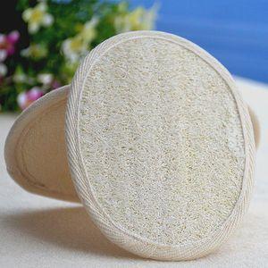11 * 16CM الطبيعية اللوف نظافة اللوف المنزلية أو الاستخدام المنزلي، والاسفنج اللوف لإزالة الجلد الميت