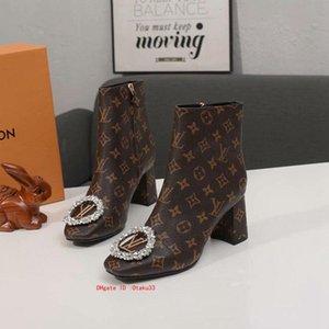 Deri Lady Kadınlar Topuklar Gladyatör Bilek Martin Boots Ayakkabı Fermuar Kış Yeni Sıcak Kadın Kısa Patik Kuyu moda için