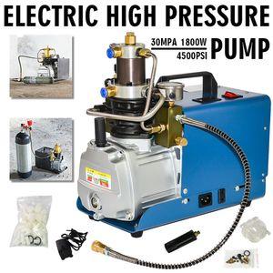 Melhor 110V 220V 30MPa PCP elétrica de alta pressão Sistema de compressor de ar Bomba 300bar 4500psi bomba de ar Compressor