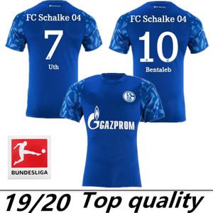 2019 2020 fc Schalke 04 قمصان كرة القدم 19 20 مايوه قدم SERDAR McKennie Caligiuri Embolo BENTALEB BURGSTALLER قمصان موحدة لكرة القدم
