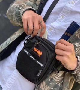 Bolsas de alta calidad mini Cruz cuerpo con bolsa impresa letra diseñador bolsa de mensajero de los hombres de lujo del hombro de la lona de la Cruz-Cuerpo de la cremallera para las mujeres los hombres