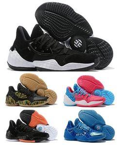 2019 Harden Vol. 4 Azul real para los zapatos de baloncesto para hombre Venta caliente vestido de los zapatos mejores tiendas de compras en línea para los deportes de venta Formación zapatillas de deporte