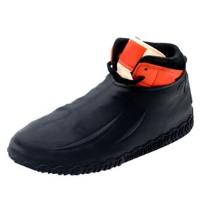 pu shoes cover full cover portable cover bag Reusable Shoes Covers Pairs of Waterproof Silicone Rain Shoe Protector Overshoe
