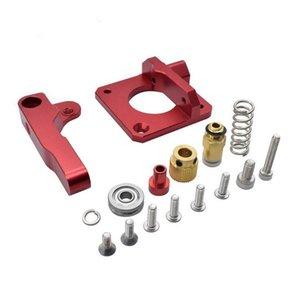 50pcs Mk8 Red Remote estrusore per Parti della stampante 3D Aggiornamento MK8 full metal estrusore Accessori 3D all'ingrosso