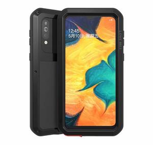 Для Samsung Galaxy A71 A70 A90 A51 A50 A41 A30 A40S A20 A9S A8S A70S Case ЛЮБОВЬ MEI Shock Dirt Proof водостойкого металла Брони телефон дело