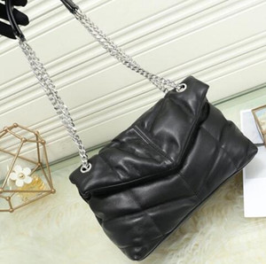 Newset Klassische Jumbo 31CM X Large Form mit Kettenschultertasche Handtasche Frauen-Hand Messenger Bag Umhängetasche Handtasche Einkaufen Tote