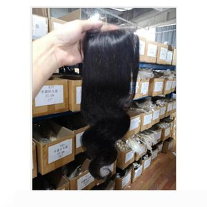 Indian Virgin Hair Body Wave Mink Lace Closure 4X5 Size Human Hair Wholesale Four By Five Lace Closure New Hair Products