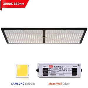 2020 Latest designer led grow light 1000W 2000W 4000W quantum board lamp with LM301B 288Pcs 3000K Chips and UL Meanwell driver
