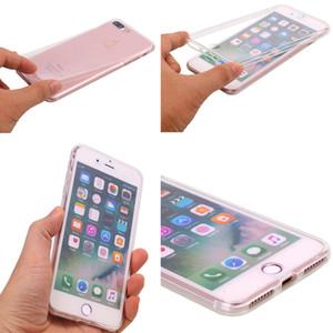 360 Voll klarer Fall für Samsung Galaxy S6 S7 Edge-S8 S9 S10 Plus-Note 4 5 8 9 10 Pro Soft-Silikon-Telefon-Abdeckung Coque