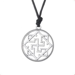 Z18 Valkyrie Symbole Pagan Amulet Pendentif Slave Viking Collier Bijoux Religieux pour Homme Et Femme