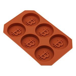 New DIY Coin Ice Cube Mold Maker Kitchen Silicone Chocolate Tray Cake Candy Mould Bar Party Cool Whiskey Wine Ice Cream Tools