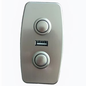 Cadeira de elevador Atuador linear Motor Abs Electroplate Immition Metal Controle Remoto com 5V2A Tomada de carregador USB para PAD PAD PAD FARGING