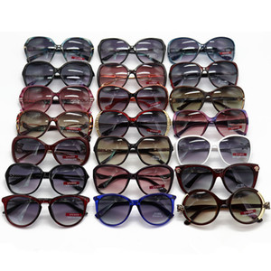 De nouvelles dames au hasard mode lunettes de soleil de gros lunettes de soleil grand cadre lunettes de soleil femmes mixtes version coréenne verres des lunettes de cabine