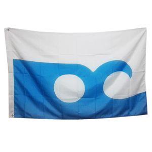 Banner USA Maryland Ocean City Flagge 150x90cm Banner 3x5 FT 100D Polyester Messingösen hinken individuell bedruckte Fahne, freies Verschiffen