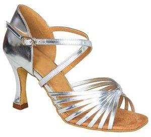 XSG Ladies chaussures de danse latine huit nœuds avec une petite femme de bal plaza de porter des chaussures de danse Ballroom fond mou vente de chaussures de scène carrés