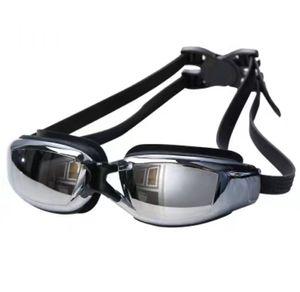 New Hot Adult Professional Swimming Goggles With Box Men Women Swim Eyewear Anti Fog UV Swimming Glasses Water Pool K160G